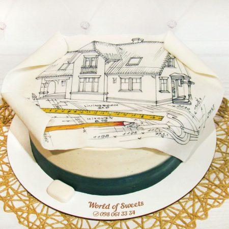 Торт архитектору