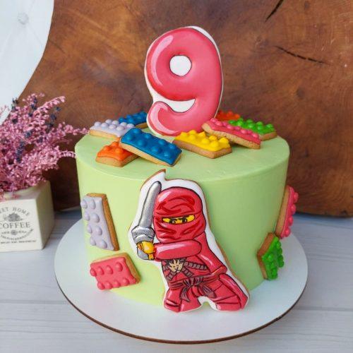 Торт с ниндзяго
