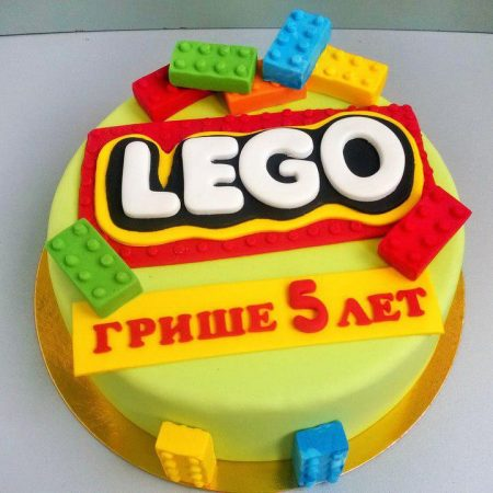 Лего дупло торт