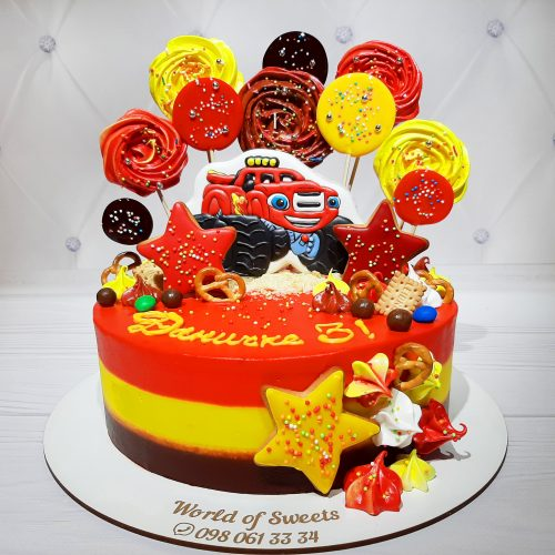 Вспыш торт