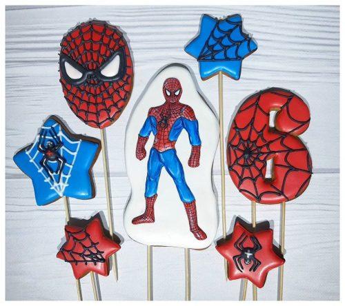 Имбирные пряники человек паук
