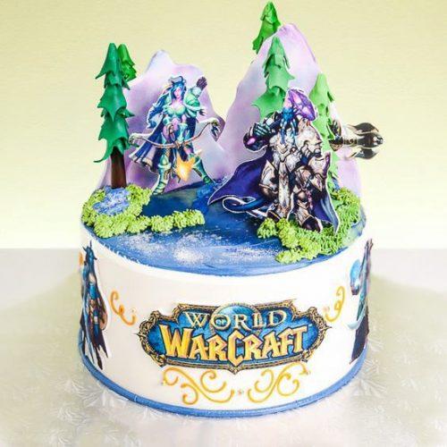 Торт варкрафт