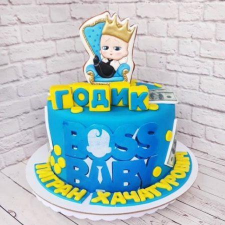 Босс молокосос торт для мальчика