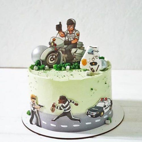 Торт полицейскому