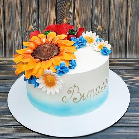 Торт в украинском стиле