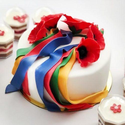 Свадебные торты в украинском стиле