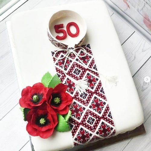 Торт вышиванка