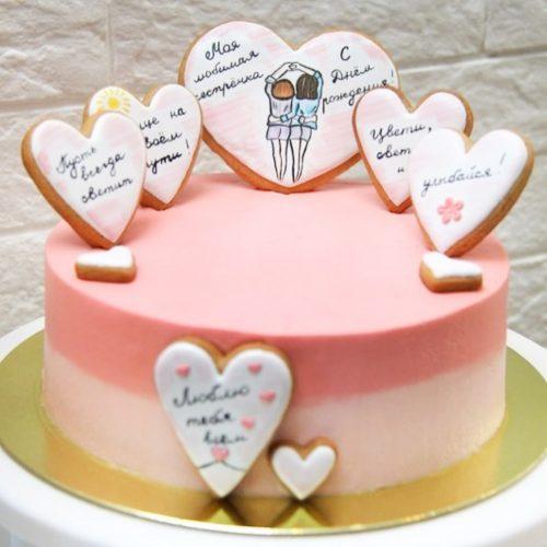 Торт сестре
