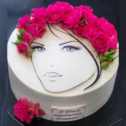 Торт сестре на 30 лет