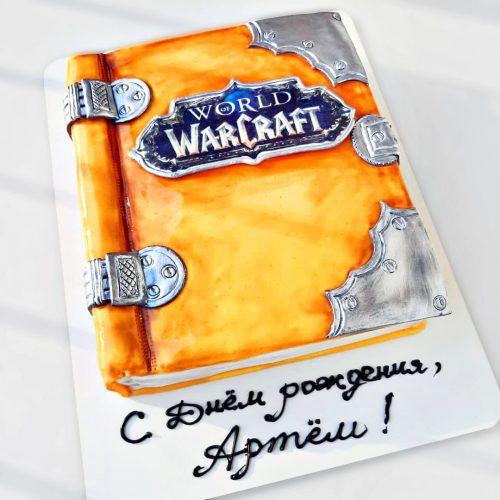 Варкрафт торт заказать в Киеве