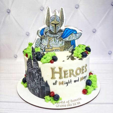 Торт герои меча и магии
