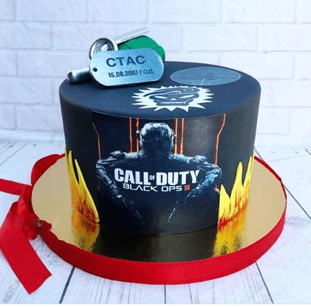 Торт Call of Duty