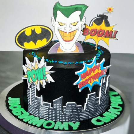 Торт Джокер против Бэтмен