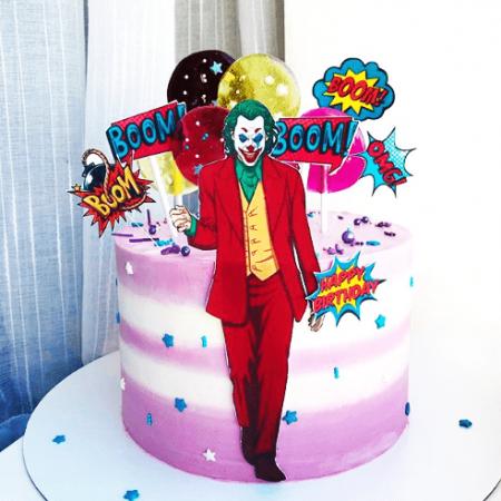 Торт Джокер для девочки