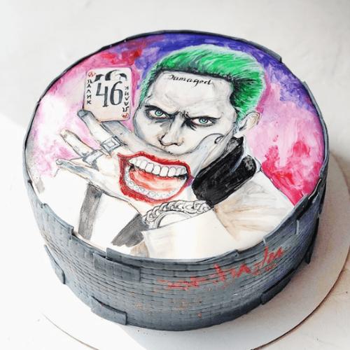 Торт с Джокером фото