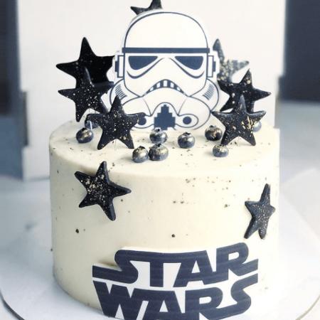 Торт на заказ звездные войны