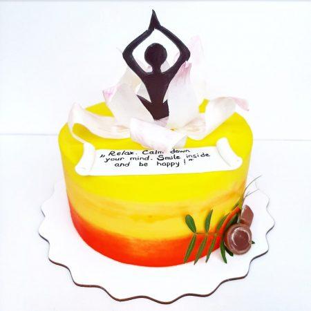 Торт для йога