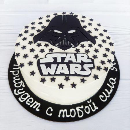 Торт звездные войны из крема