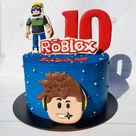 Торт роблокс для мальчика