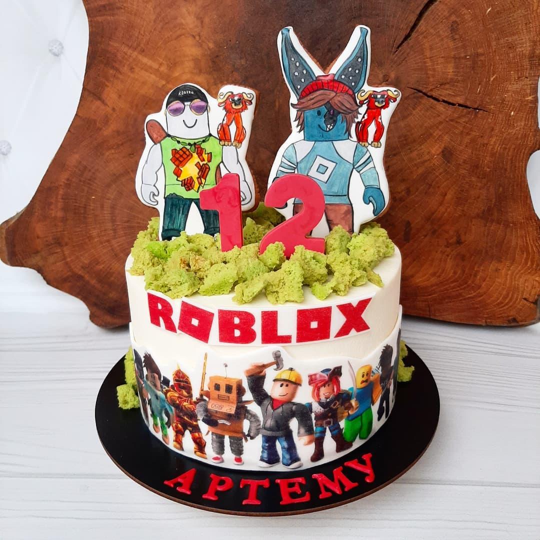 Торт роблокс с картинками