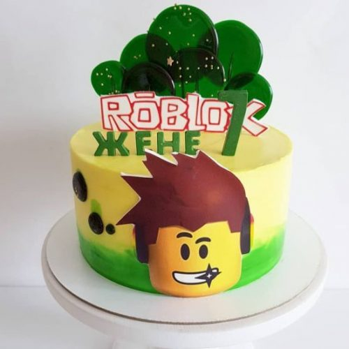 Роблокс торт