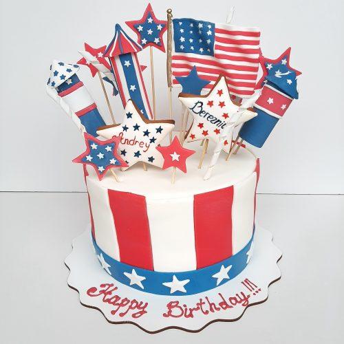 Торт в американском стиле