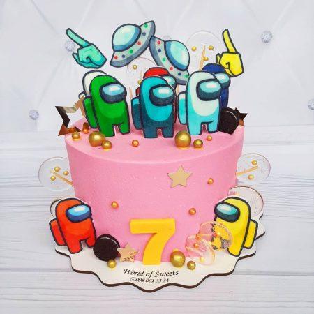 Торт амогас девочке