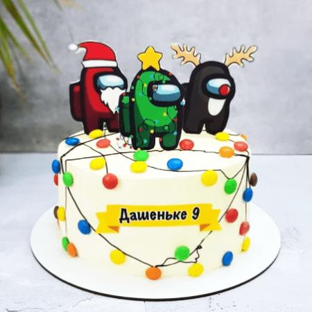Торт амонг ас заказать