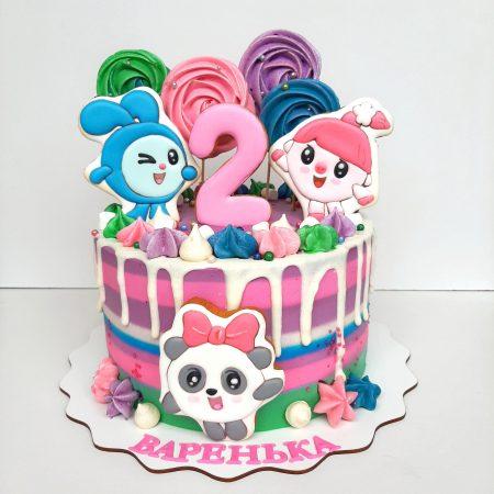 Торт малышарики