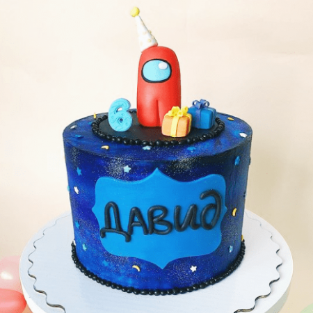 Торт с амонг ас