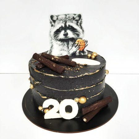 Торт с енотом