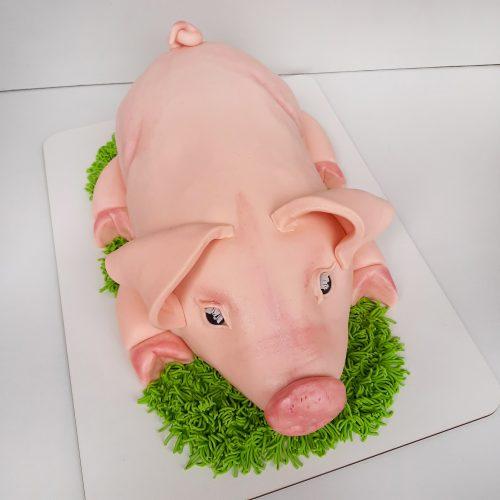 Торт свинья