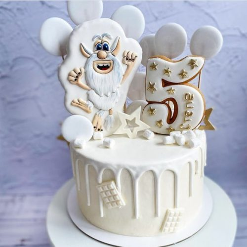 Торт буба кремовый