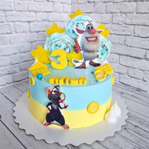 Торт с бубой
