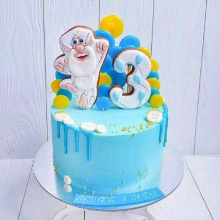 Торт с бубой мальчику